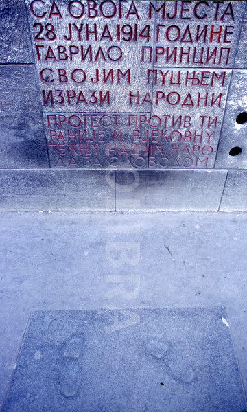 Footprints of Gavrilo Princip