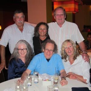 Vince, Cheryl, Gwyn, Martha, Mike, Von