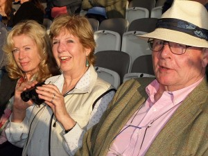 Von, Sandra, Marcus at Lords